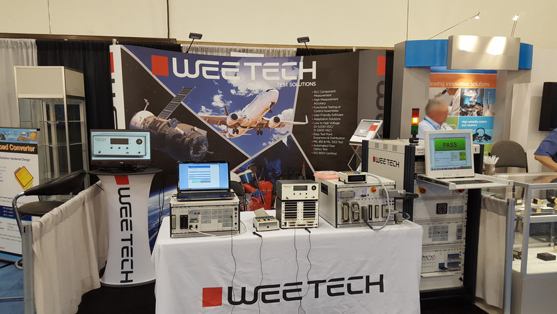 Broad Range of Test Systems at Exhibition in California